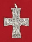 Cruz Sagrada Familia 9x7cm